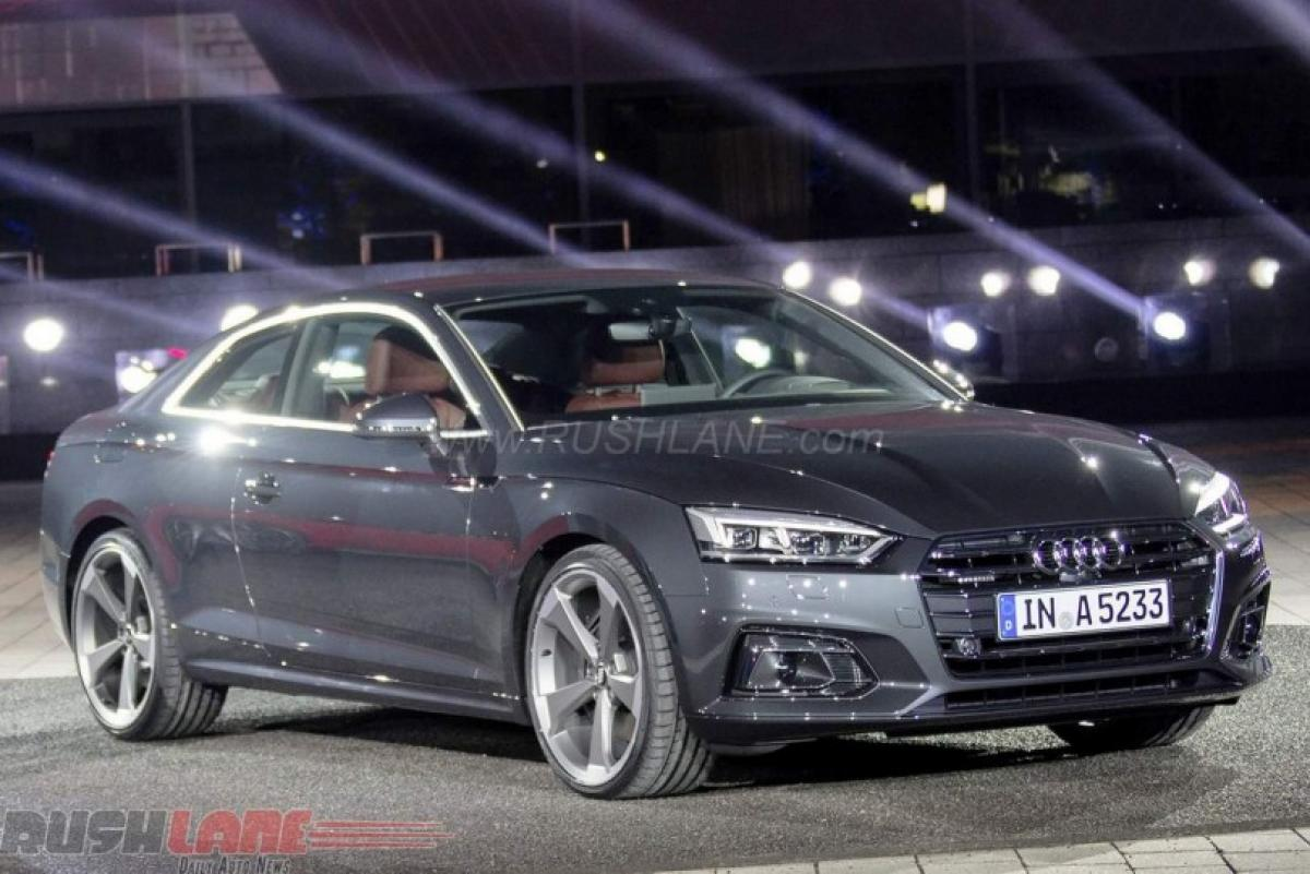 New style icons 2017 Audi A5, S5 Coupe Debut in Germany