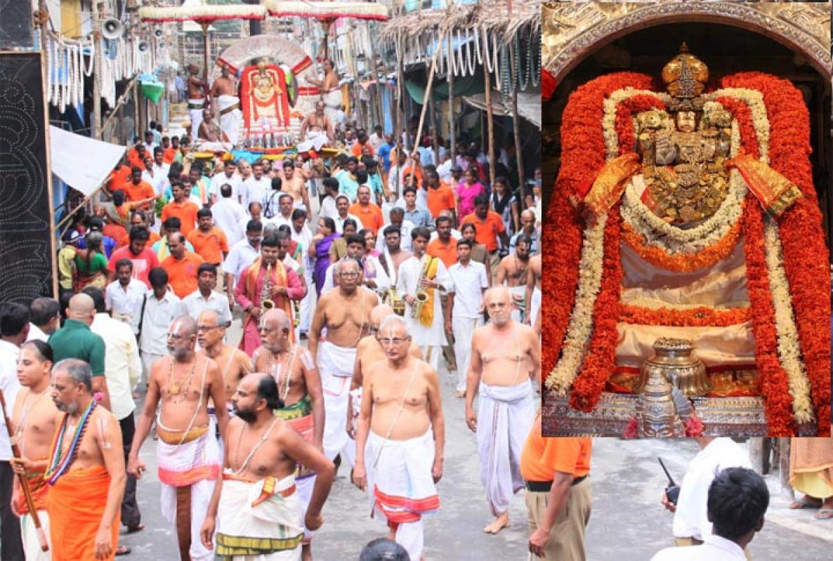Govindaraja Swamy rides on Surya Prabha Vahanam