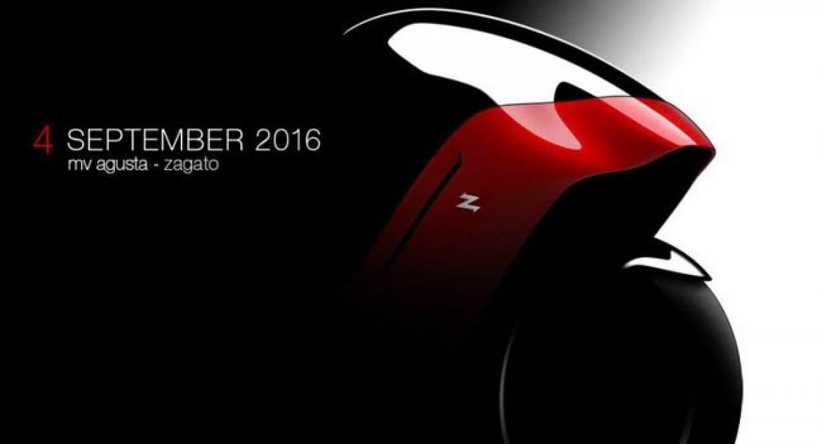 MV Agusta tease motorcycle concept ahead of premiere on Sept 4