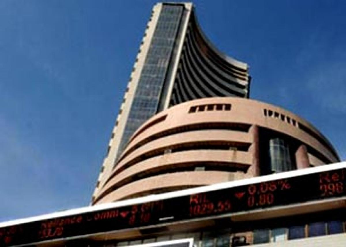 Bearish Asian cues, weak rupee depress markets, Sensex 462 points down