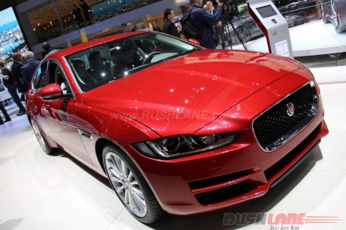 Geneva Motor show 2016: Jaguar XE 20d AWD features