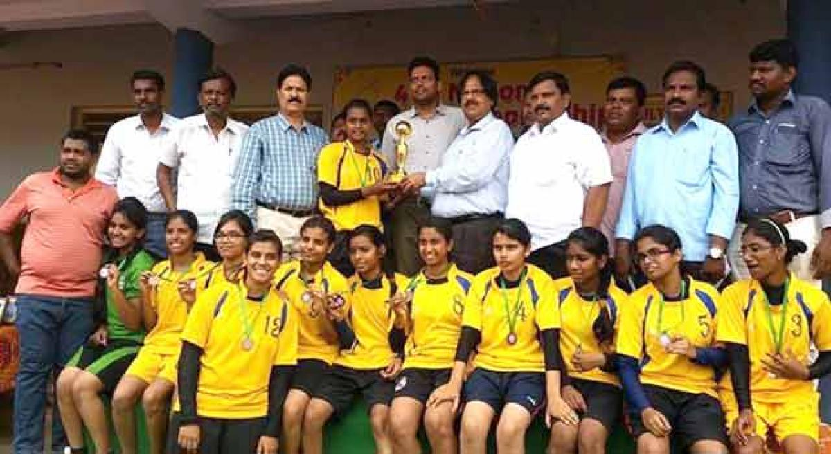 Senior South Zone softball meet in Hyderabad