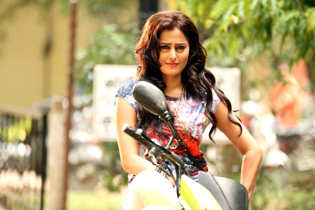My introduction in film Direct Ishq is on bike says Nidhi Subbaiah.