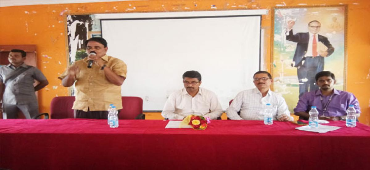 Awareness programme on web counselling held at P V K K Institute of Technology
