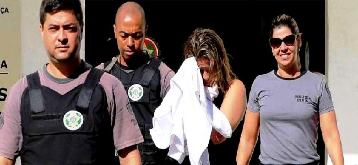 Wife of murdered Greek ambassador jailed in Brazil
