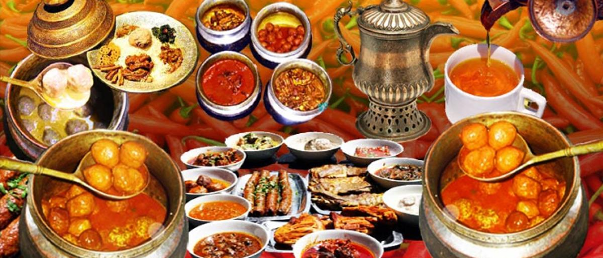 Traditional Kashmiri Wazwan cuisine a must in wedding menu