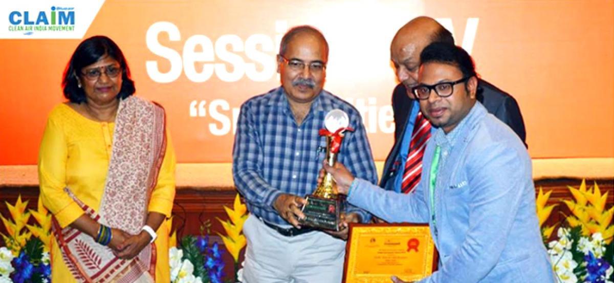 CLAIM, an anti-pollution campaign bags the Global Environment Award