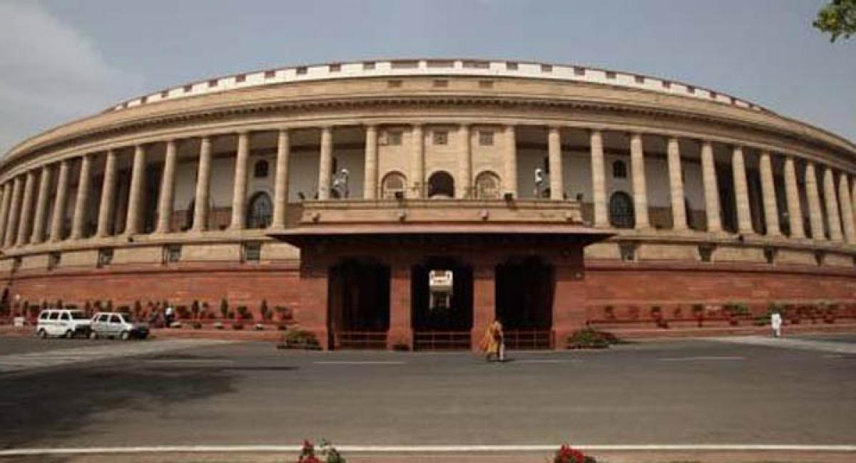 Agenda for Winter session of Parliament