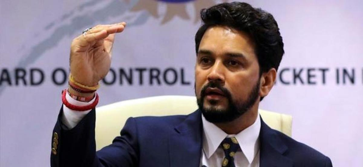 Accounts freeze ruined BCCI reputation, says Thakur