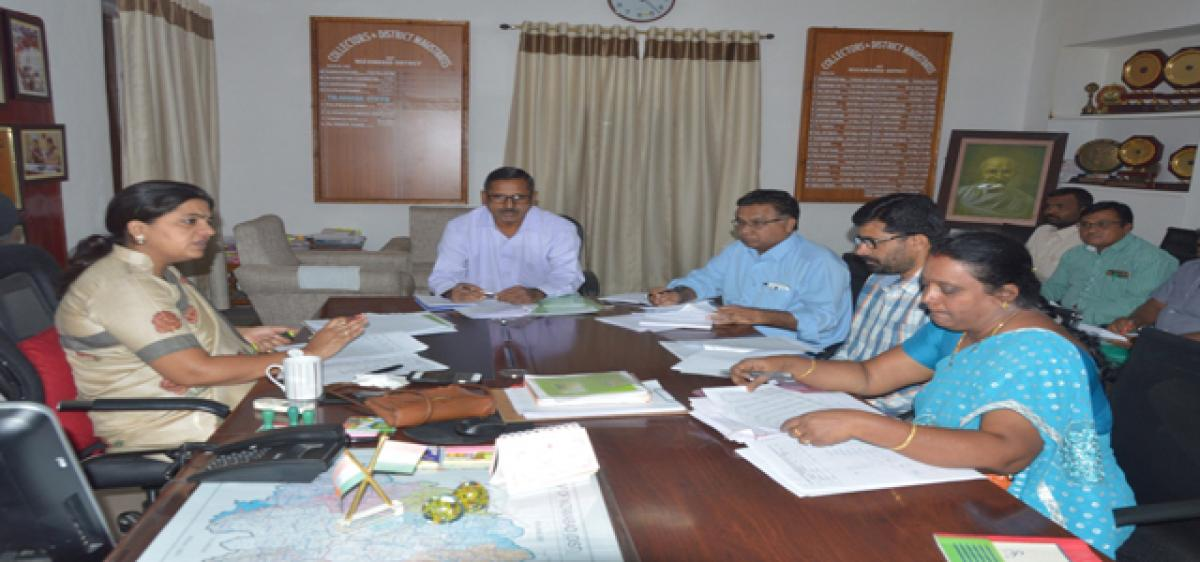 Give priority to farmers: Collector Rana