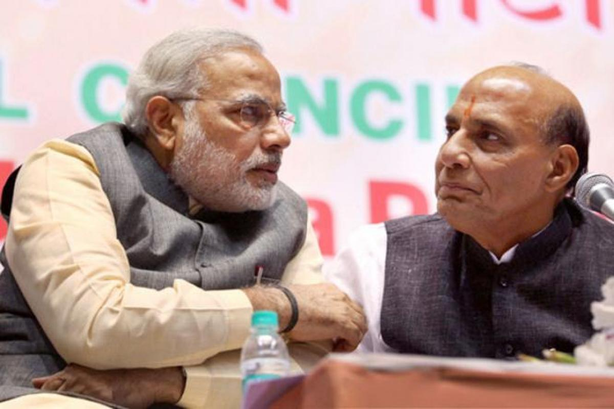 Modi holds same appeal, no dent in image, says Rajnath