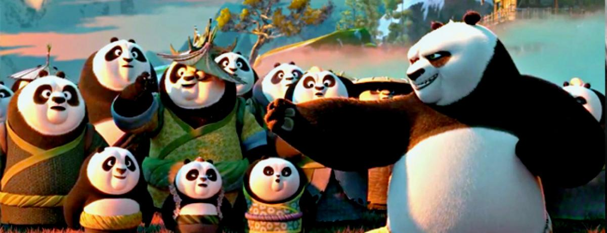 Kung Fu Panda rakes in INR 10 cr at Indian Box office