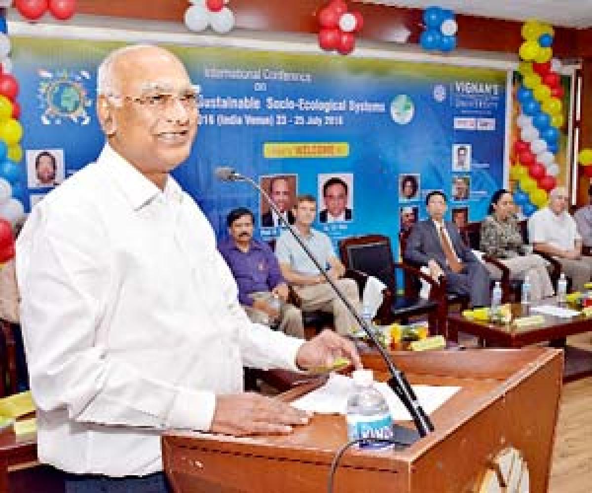 Nature protection key to survival, says Ratttaiah
