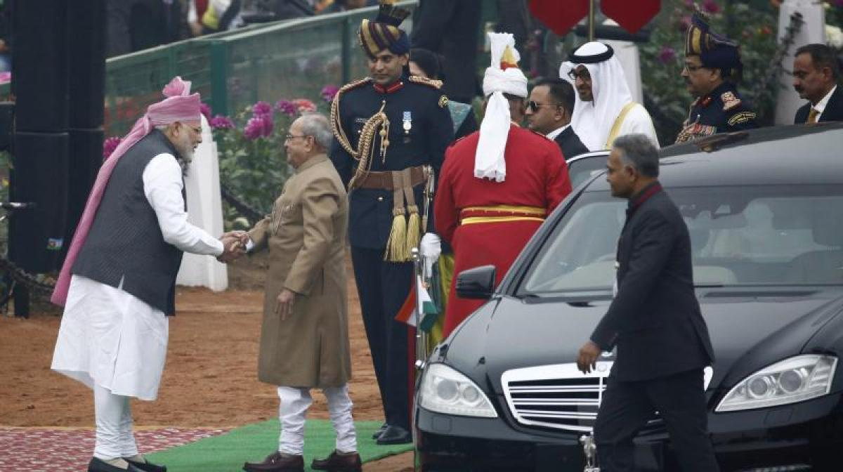 Abu Dhabi's Al Nahyan joins select group of leaders to grace India's R-Day
