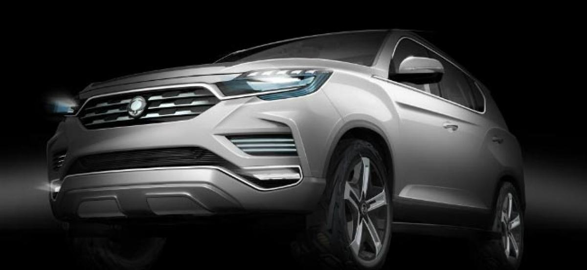 2017 SsangYong Rexton Concept Revealed – LIV-2