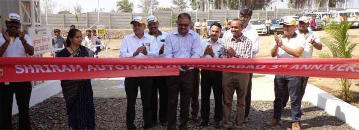 Shriram Automall celebrates third anniversary in Hyderabad