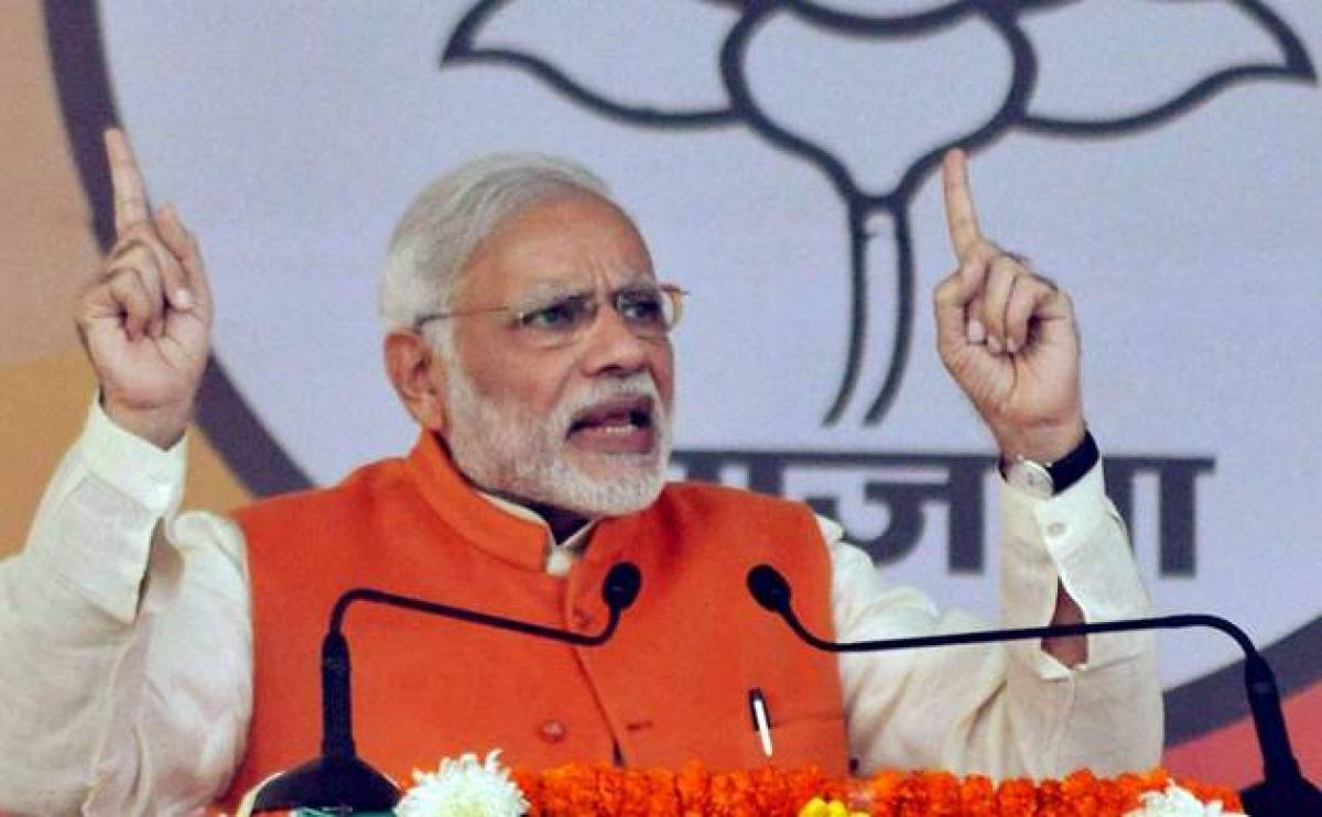 BJP credits PM Modi for victory in Uttar Pradesh