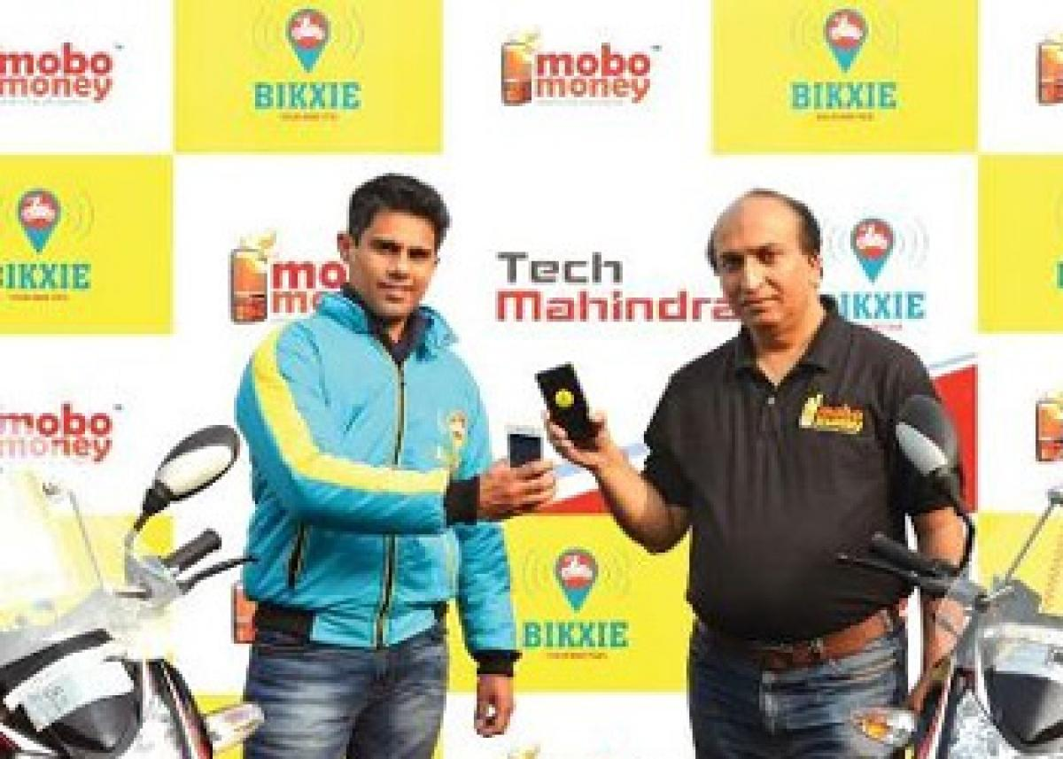Bike taxi service Bikxie launches cashless payments with MoboMoney