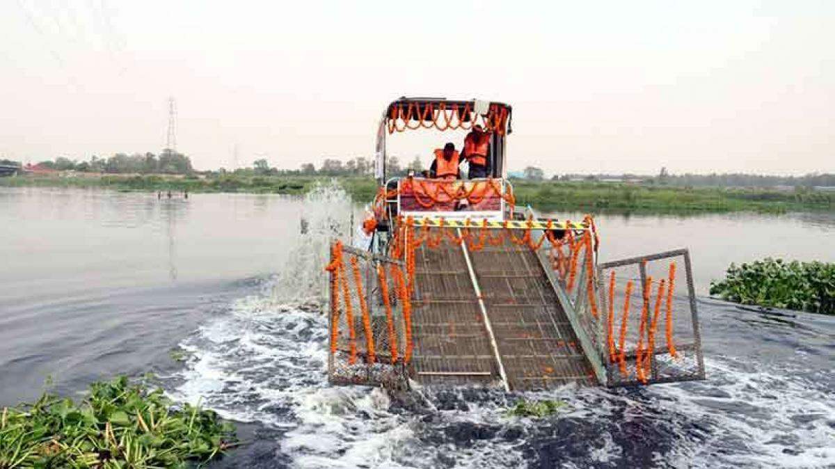 Delhis Yamuna riverfront to be developed ecologically