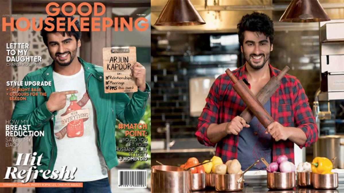 Look whos on the cover of Good Housekeeping