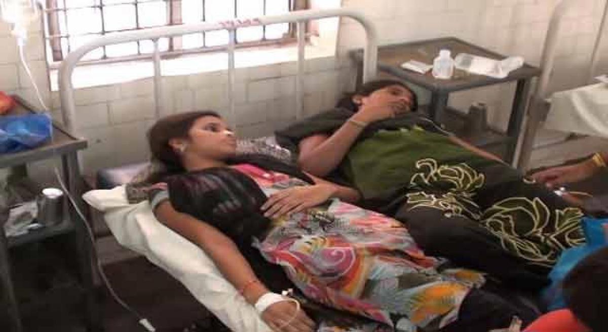 Diarrhoea subsides patients discharged