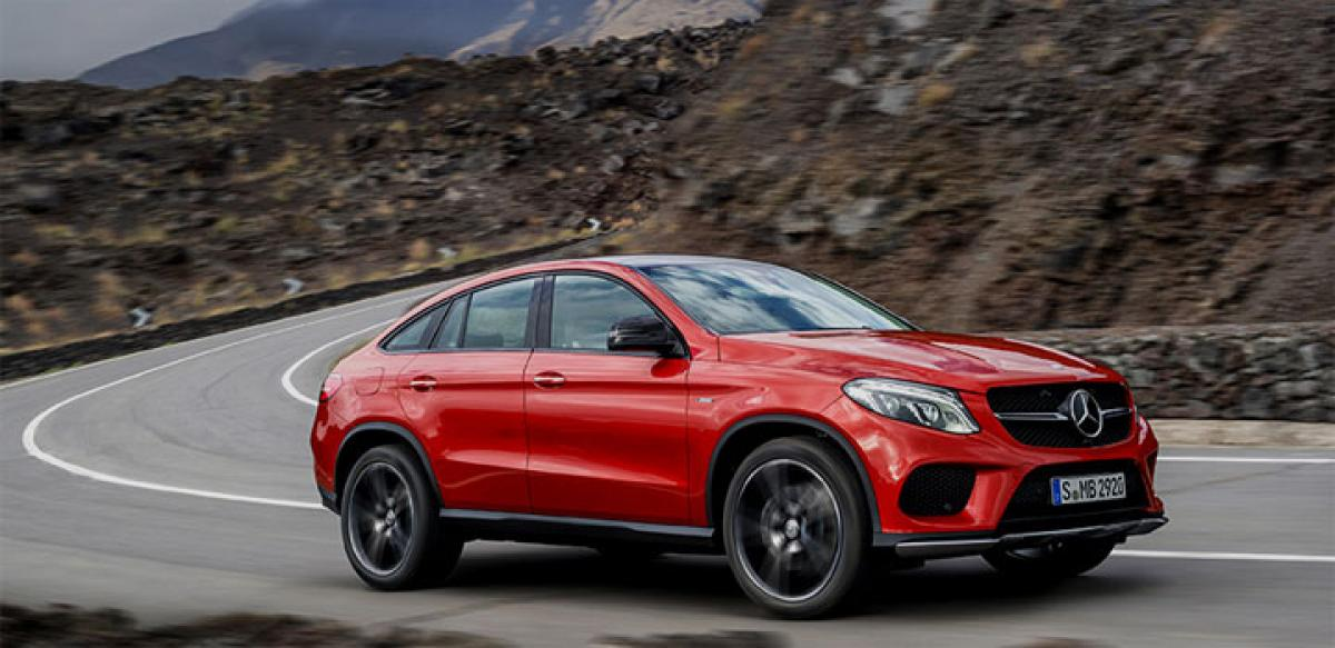 Mercedes Benz GLE launched at Rs 58.90 lakh