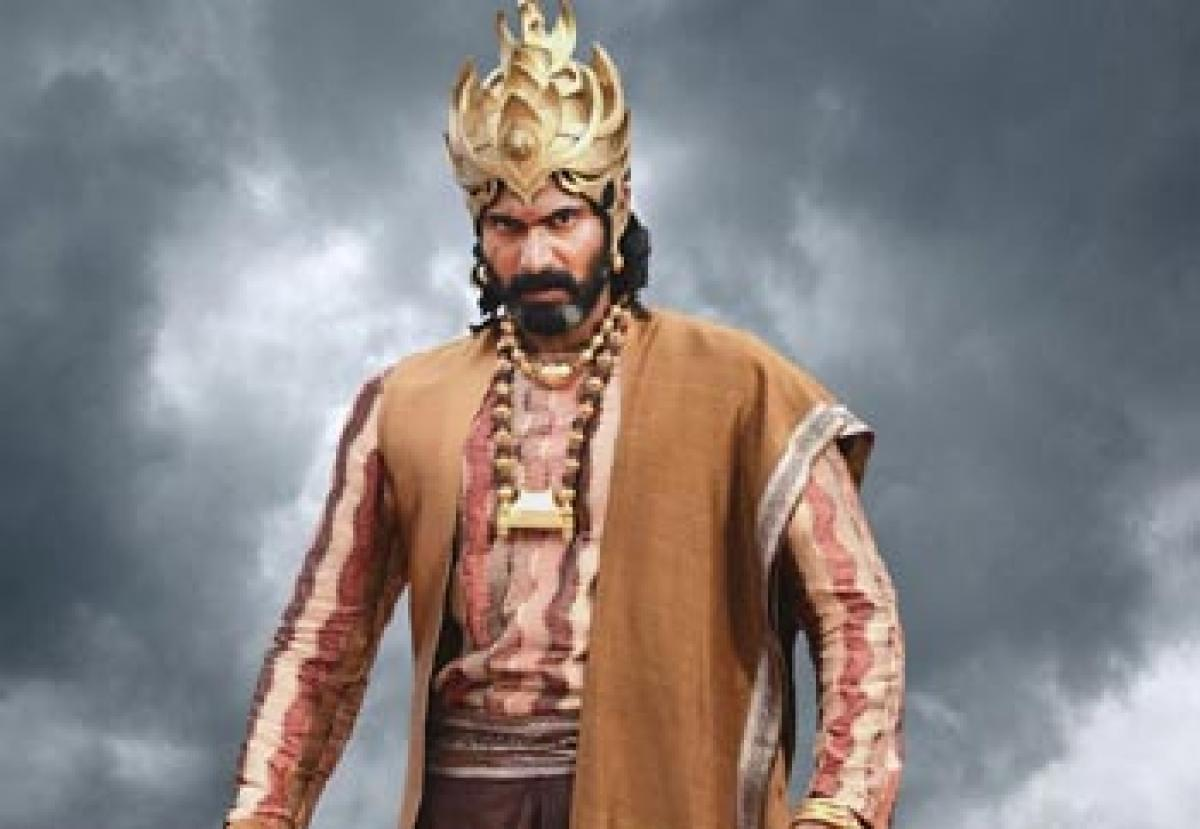 Baahubali 2 to see less of Rana?