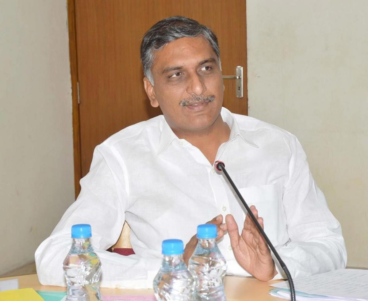 25,000 crore needed to complete all irrigation projects: Harish Rao