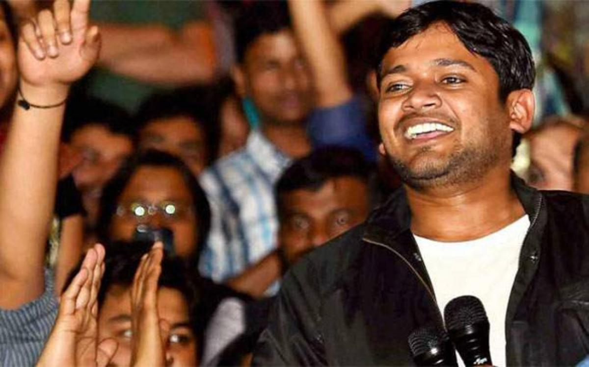 Kanhaiya Kumar in Hyderabad, to visit university