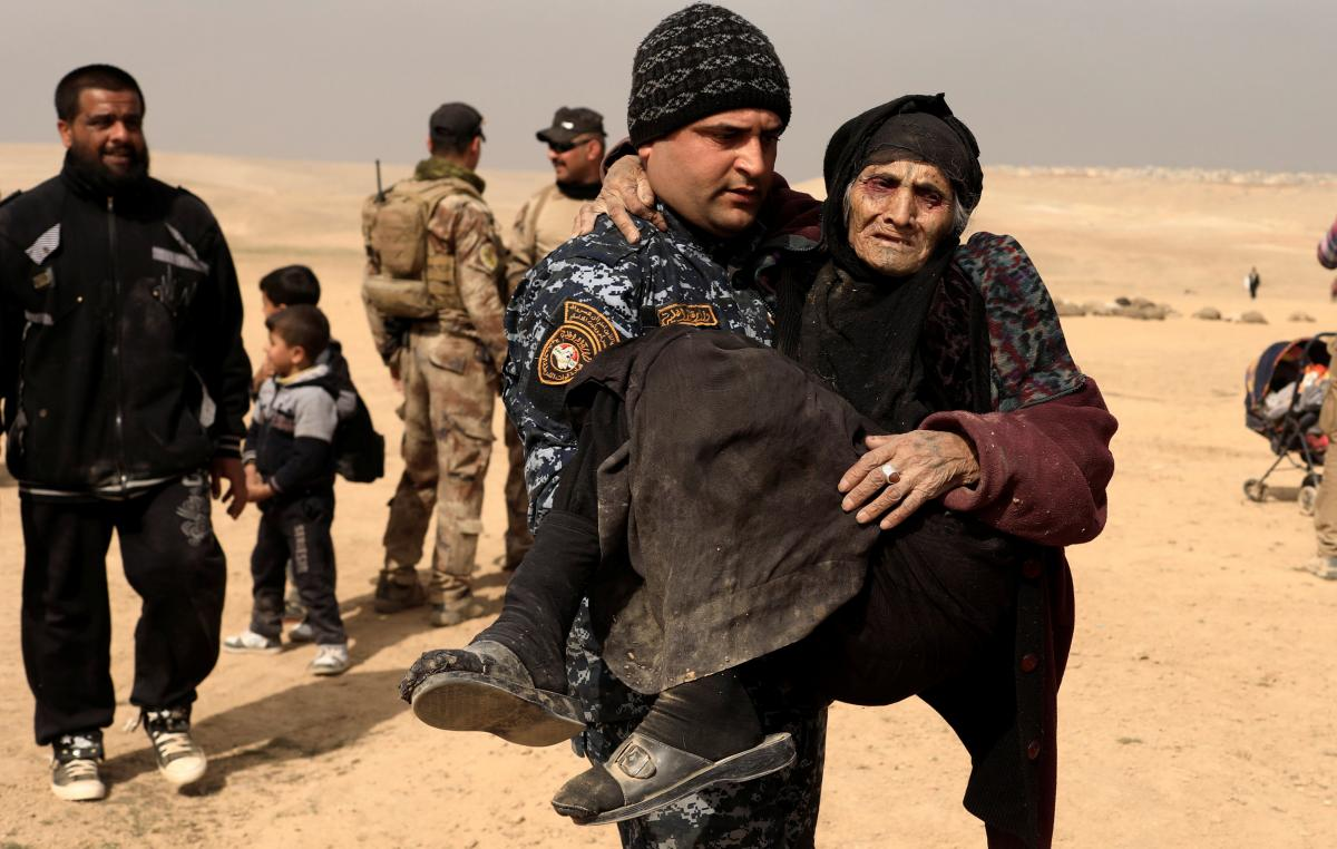Ive never seen such war says 90-year-old rescued from Mosul