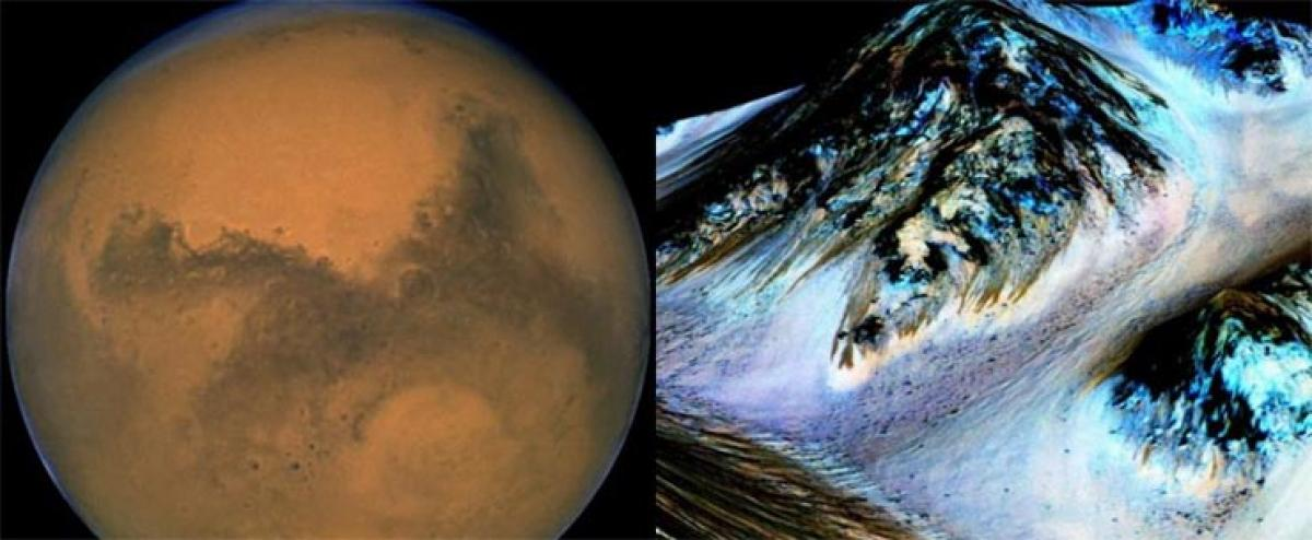 Water flows on Mars, raising possibility that planet could support life: scientists