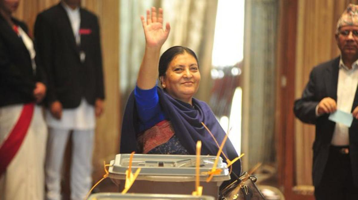 Nepal government marks 2 public holidays for President Bhandari's India visit