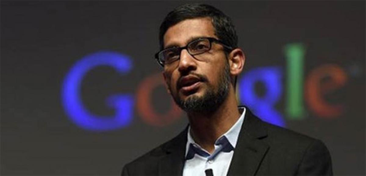 Google CEO Sundar Pichai receives $199 million stock grant