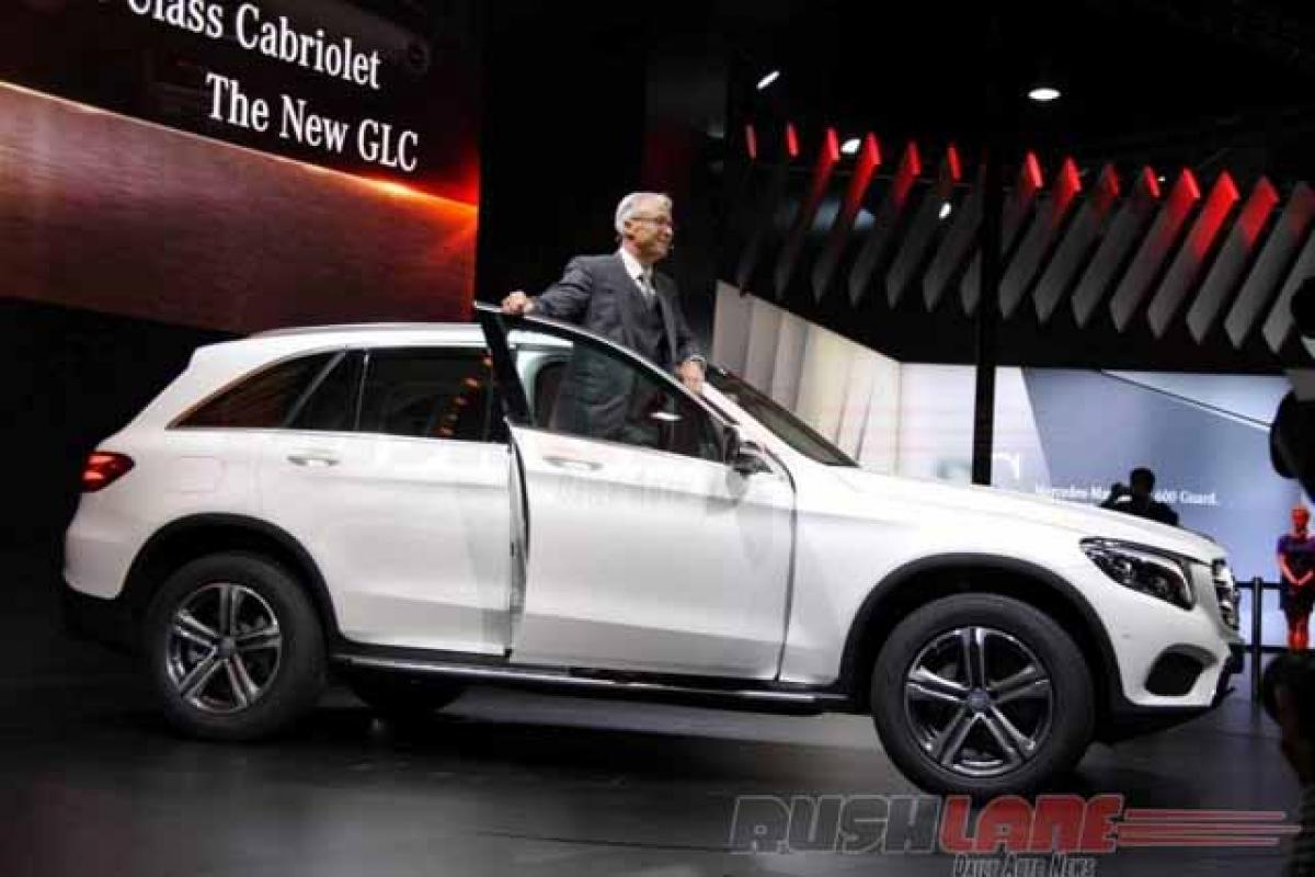 Check out: Mercedes Benz GLC SUV features at Auto Expo 2016