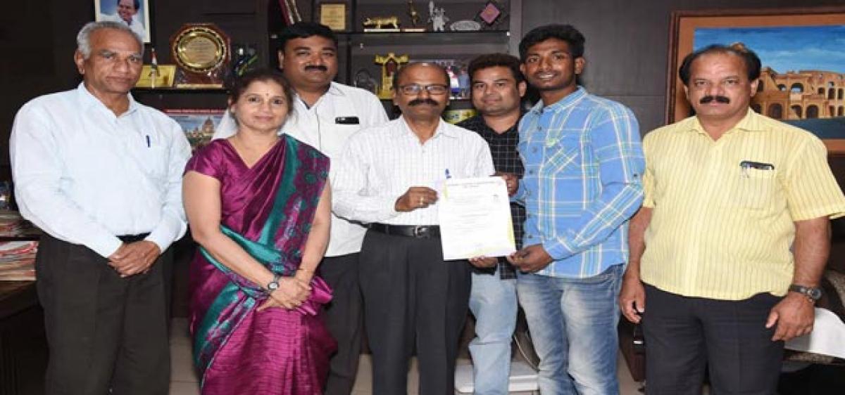 Gattu Anil is the toast of TS, AP