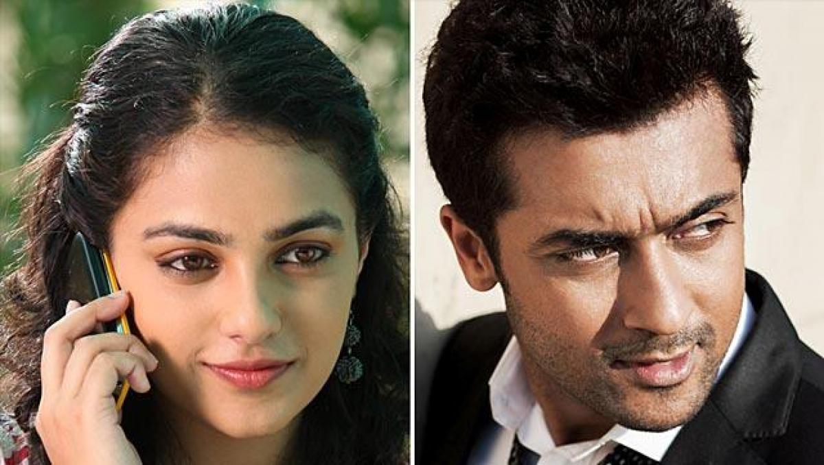 Suriya sings praises of 24 co-star Nithya Menens acting abilities