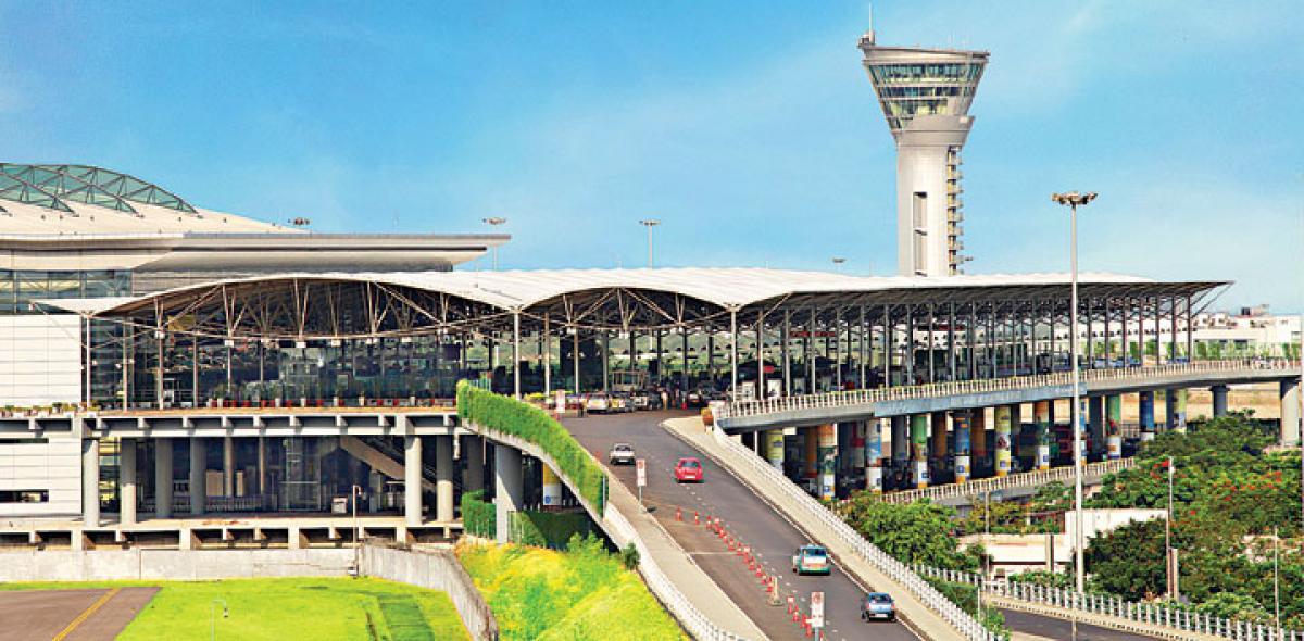 Hyderabad airport bags Skytrax award