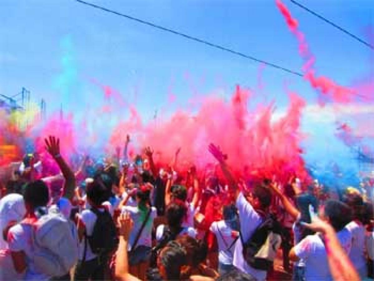 Holi to be celebrated in Manila