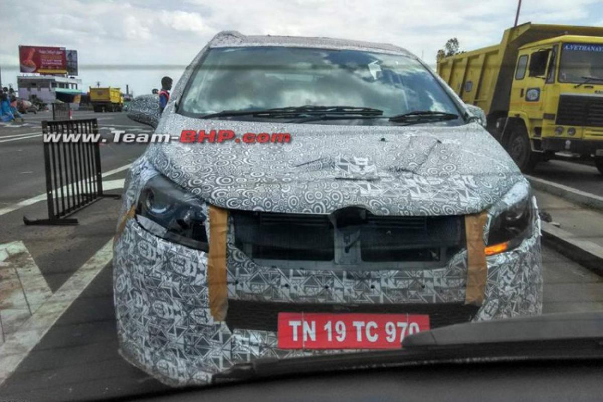 Mahindra MPV to lock horns with Toyota Innova Crysta