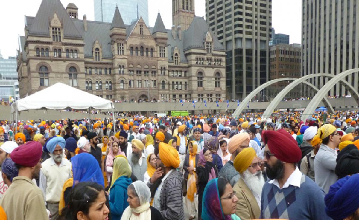 Sikhs in Canada raise funds for spiritual centre