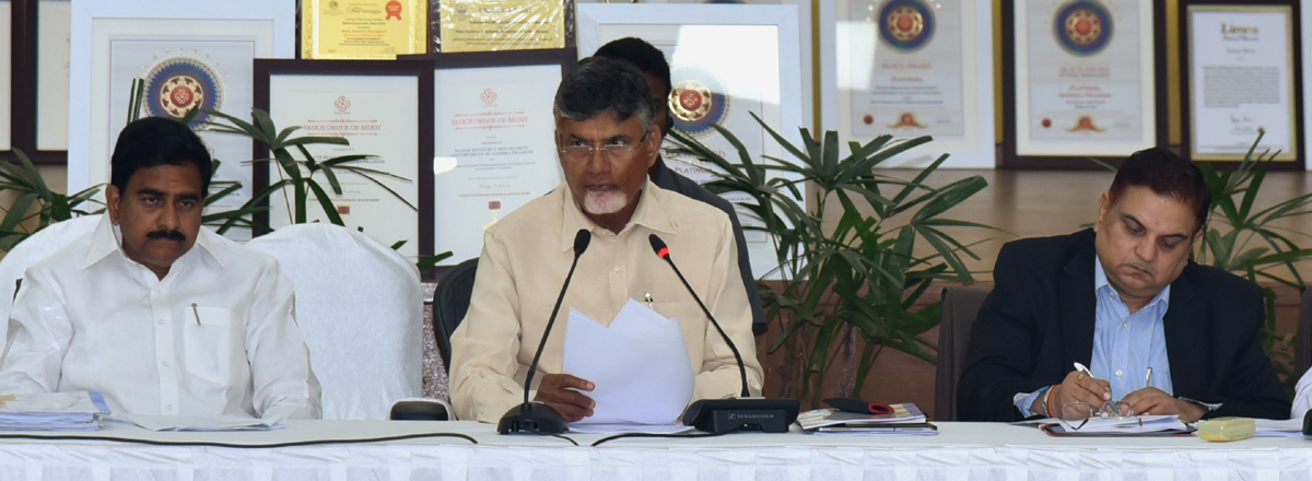 Priority projects will be completed in 3 yrs: Chandrababu Naidu