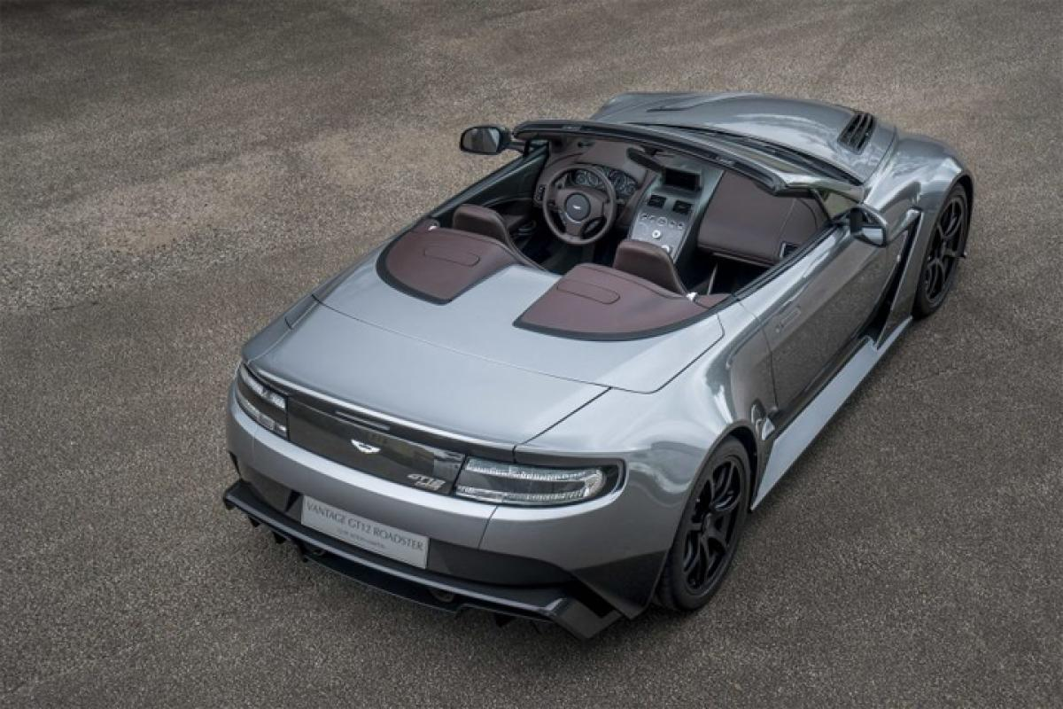 Check out: Aston Martin Vantage GT Roadster