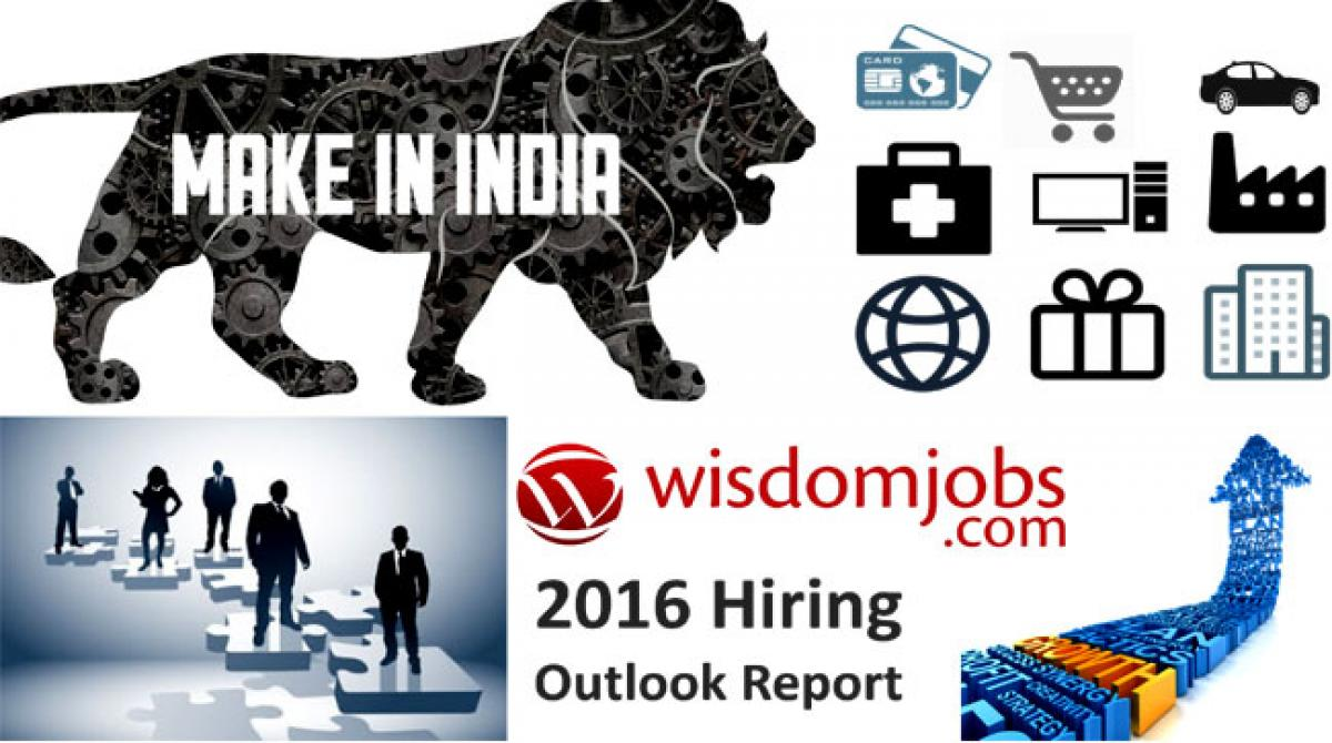 The 2016 hiring outlook: a report from Wisdomjobs.com