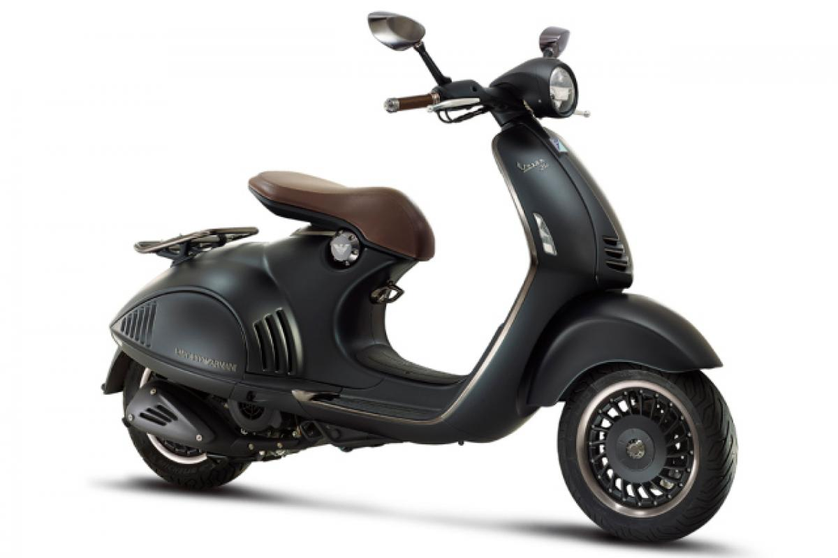 Armani and Vespa team up on anniversary model