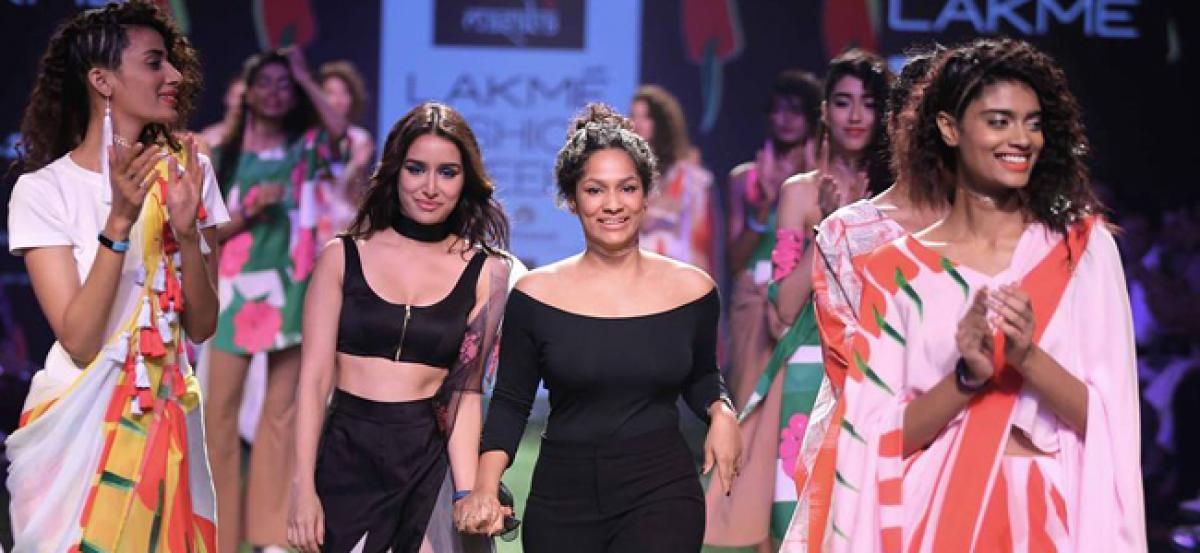 Masaba Gupta collaborates again with Maybelline New York for AIFW S/S 2017