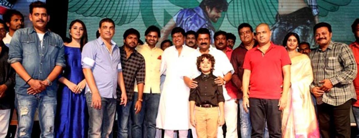 Dil Raju basking in the success of mega star