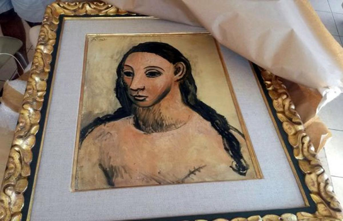 Picasso national treasure seized by French customs in Corsica