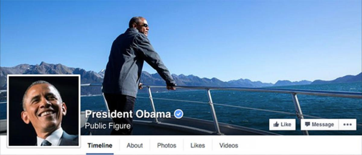 Now, like President Obama public figure on Facebook