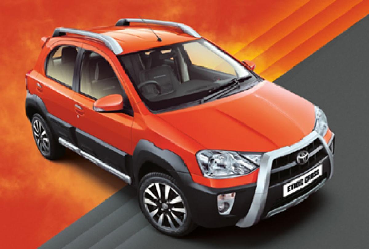 Toyota Etios Cross Dynamique to launch soon