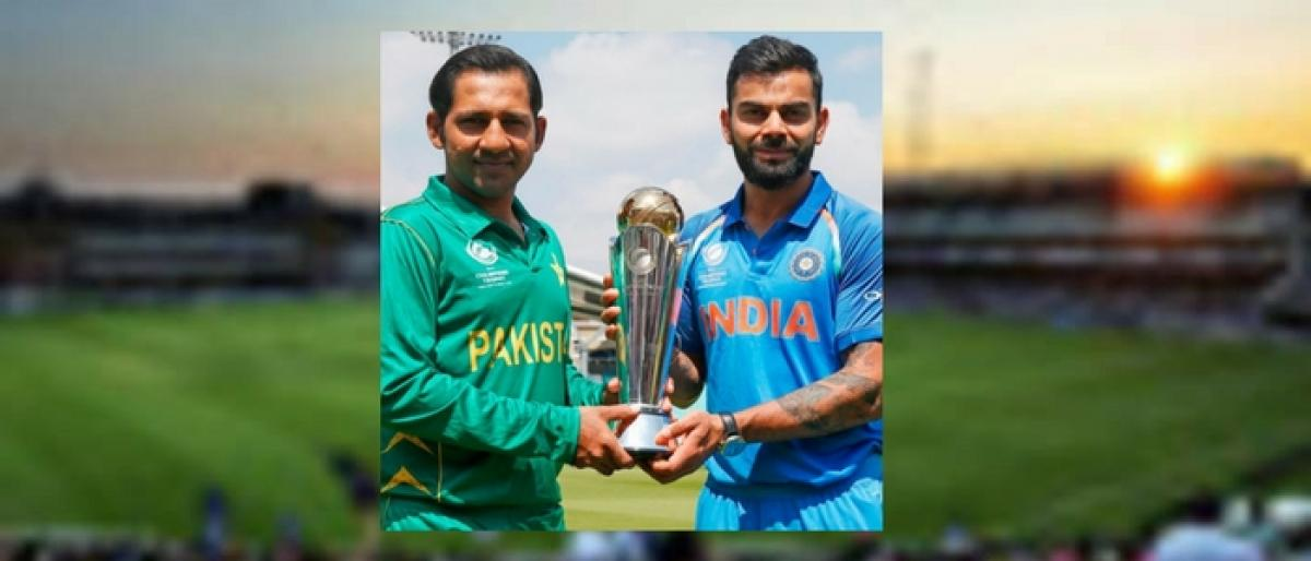 Clinical India, maverick Pak vie for Champions Trophy